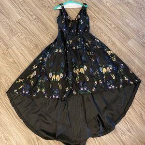 Calvin Klein high/low dress size 10